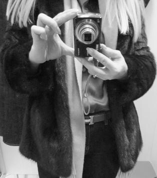 My old Saga mink jacket