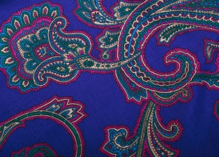 Silk fabric from Etro