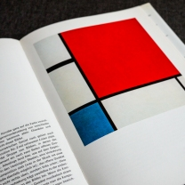 The compostition with red, blue and yellow, 1930