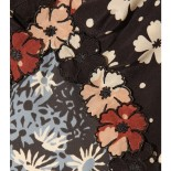 Bottega Veneta silk dress, close up