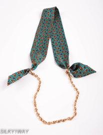 Optiom how to wear TWilly/Ribbon scarf