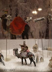 The Black camel, window decoration